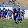 the third quarter of the St. Michael's High School vs Bloomfield at St. Mike's on Saturday, September 1, 2012. Photo by Luis Sánchez Saturno/The New Mexican