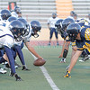 Santa Fe High  played Highlands  at Wilson Stadium in Alburquerque on Friday, September 3, 2010.  Highlands was up 41-6 at half time.<br /> Photos by Jane Phillips/The New Mexican