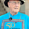 Robert Carter, a Manhattan project scientist who raised 11 children on the hill, is celebrating his 90th birthday in Santa Fe Saturday night.Colleagues from the 1940s and 1950s will be joining the celebration along with family and friends. In all there are 55 adults from the family who will be staying at Ft. Marcy Suites, a condo hotel as well as 10 children. <br /> Clyde Mueller/The New Mexican