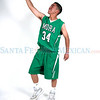 Northstar player Tyler Martinez  plays basketball for  Mora High School .<br /> Photos by Jane Phillips/The New Mexican