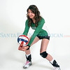 Northstar player Briana Ainsworth plays volleyball for -Pojoaque Valley.<br /> Photos by Jane Phillips/The New Mexican