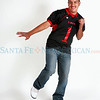 Isaiah Maldonado  plays football for Escalante. <br /> Photos by jane Phillips/The New Mexican