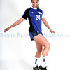 Northstar player Liana Coppola plays soccer for -St. Michael's.<br /> Photos by Jane Phillips/The New Mexican