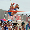 St. Micheal's Kate Norskog takes a 7 foot pole vault during the 2010 State Track and Field Championships at Great Friends of UNM Track Complex on May 8, 2010. Norskog took 6th in the pole vault.               Luis Sanchez Saturno/ The New Mexican.
