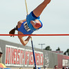 St. Micheal's Kate Norskog clears a 7-foot 6-inch pole vault during the 2010 State Track and Field Championships at Great Friends of UNM Track Complex on May 8, 2010. Norskog took 6th in the pole vault.               Luis Sanchez Saturno/ The New Mexican.