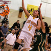 Santa Fe Indian School's Jenine Coriz goes up for a layup during a game against West Las Vegas, during the first quarter Friday, Feb. 5, 2010 at Francis L Abeyta Memorial Gymnasium.<br /> Photos by Jane Phillips/The New Mexican