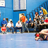 District 2A-AAA wrestling tournament at St. Michael's High School in Santa Fe, N.M. on Feb. 13, 2010.<br /> Natalie Guillén/The New Mexican