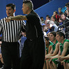 Pojoaque Valley High School vs St. Michael's during the District 2AAA boys: semifinal at St. Michael's  Perez-Shelley Gymnasium on Thursday, Feb. 25, 2010. Jane Phillips/The New Mexican