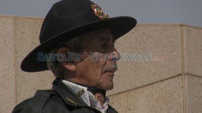 Veteran's Day Parade on Nov. 11, 2009.          Luis Sanchez Saturno/ The New Mexican