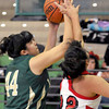 The undefeated Lady Dons of West Las Vegas led the Grants Lady Pirates 22- 42 at the half of the opening day game played during the Ben Lujan boys and girls basketball tournament played at Pojoaque.<br /> Clyde Mueller/The New Mexican