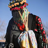 Matachines<br /> by the old church..... San Antonio de Padua in Alcalde<br /> Traditional dances and Los Comnches<br /> Photos by  Jane Phillips/The New Mexican