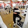Kathy Schneider and her husband work out at the gym three times a week at Las Campanas in Santa Fe, N.M. on Dec. 9, 2009. <br />  Natalie Guillen/The New Mexican
