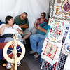 Traditional Spanish Market downtown in Santa Fe, N.M. on July 28, 2012.      Natalie Guillén/The New Mexican