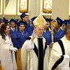Approximately 100 seniors got their diploma of graduation from St. Michael's High during the graduation ceremony on Monday May 20, 2013 held at the Cathedral Basilica of St. Francis of Assisi. Clyde Mueller/The New Mexican