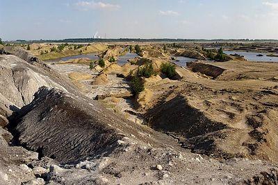 2004-08-08_02046 Tagebau Zwenkau bei Leipzig südlich vom Cospudener See (360° Panorama gibts HIER )
