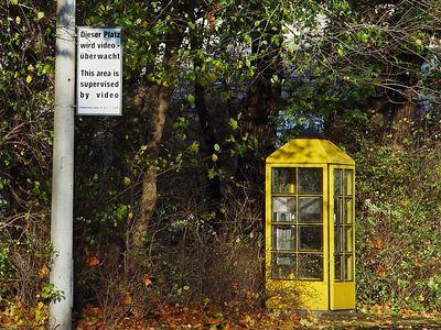 """2004-11-10_03361 Maßnahmen zur Vorbeugung von Szenarien wie im Film """"Phonebooth"""" (""""Nicht auflegen"""")"""