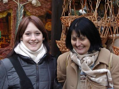 2004-11-29 Das perfekte Gute-Laune-Duo...5min haben für meinen ganzen Tag gereicht!