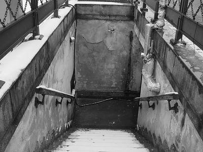 2005-02-19_03959 Zugang zur Untergrundmessehalle