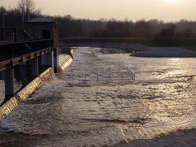 2005-03-24_04446 Das Wasser ist wieder etwas zurückgegangen