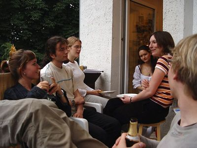 2005-06-30_05423 Evas Geburtstagsfete auf dem Balkon aus Lisas Sicht (mehr Bilder)