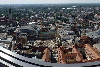 2005-06-28_05405 Panorama vom MDR Hochhaus in Leipzig mit Blick auf die Leipziger Innenstadt (Auschnitt - hier klicken für das vollständige Bild)