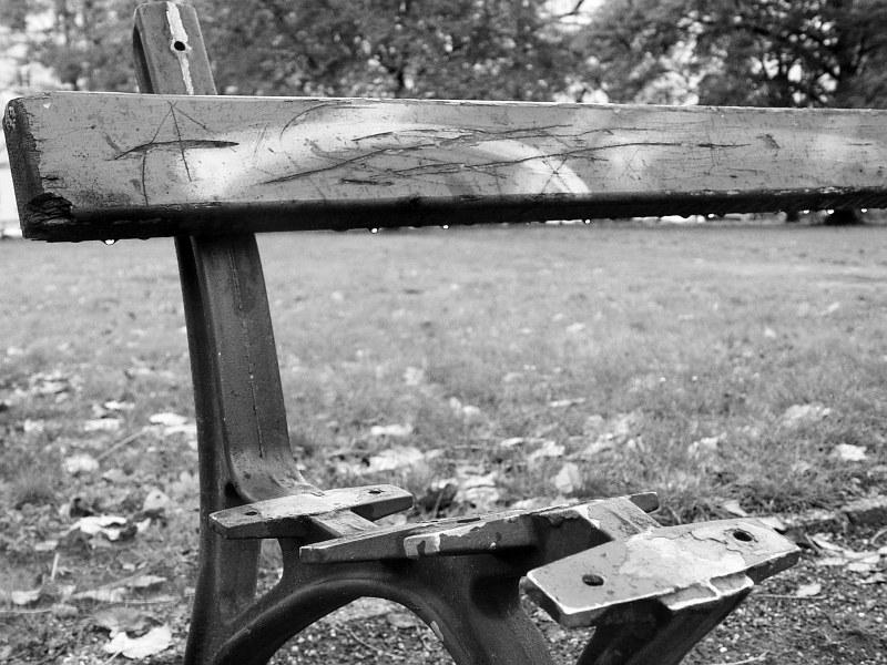 2005-11-17_07292 Wenigstens kann man sich noch anlehnen... At least you can still lean against the bench...
