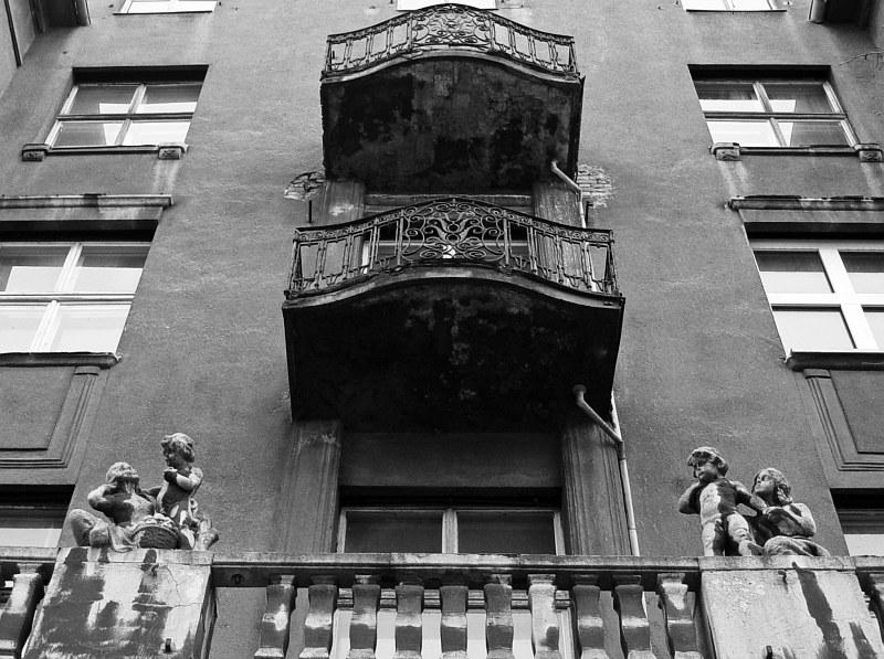 2005-11-11_07199 Häuserfassade in Leipzig house front in Leipzig