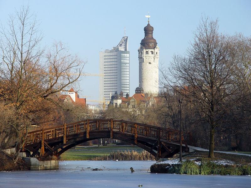 2006-01-09_08187 Ein wunderschöner Wintertag im Johanna Park. A beautiful winter day in the Johanna Park.