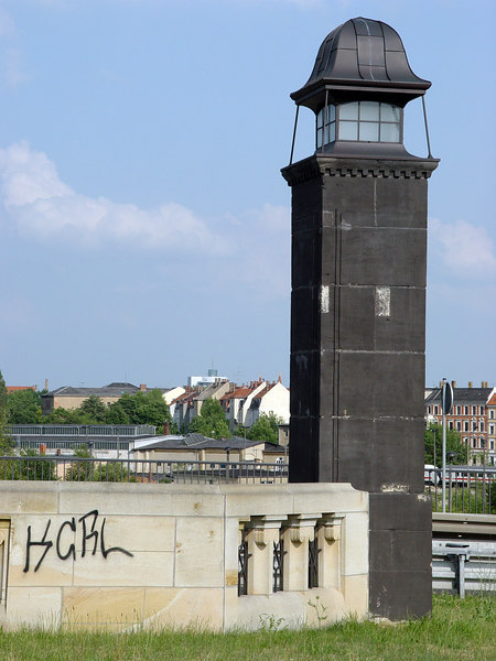 2006-06-20_10154 Lighthouse above the city Leuchtturm über der Stadt Faro por encima de la ciudad