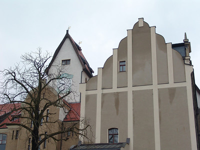 2009-03-13 City Hall Backside (Rathaus Schönefeld)