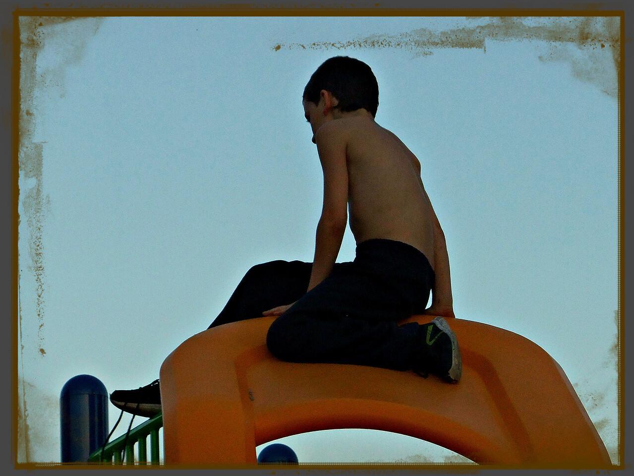 TRYING TO BEAT THE SUNDOWN,,,17/09/16