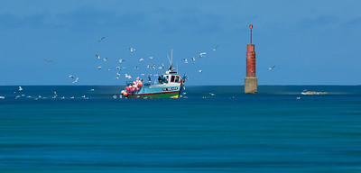 Return from Fishing - Plouescat - Brittany