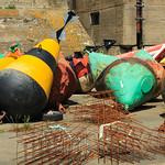 Buoys - Commercial Port - La Rochelle