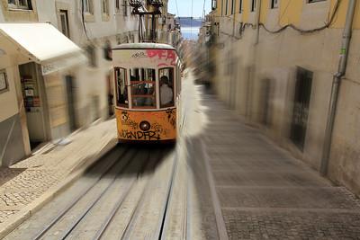 Funiculaire de Bica  -  Lisbonne