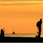 On the Pier  -  La Rochelle