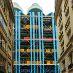 Centre Beaubourg  -  Paris