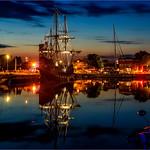 Galleon by Night (2)  -  La Rochelle