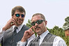 Best Man and Groom - This shot from the wedding I shot weekend before last is one of my favorites, mainly because of the reflections in the sunglasses.  The bride can be seen in both men's glasses, although you'll probably need to view it in a larger size to see this.  This afternoon I'll be shooting another wedding --- this one at the Will Roger's Shrine on Cheyenne Mountain.  Thanks for the comments on my yawning hippo with the dental problems.