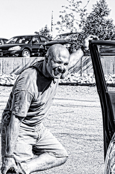 Pete, snapped in the parking lot at the Pilates studio.  Have a nice day!