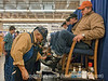 The shoeshine is still popular at the National Western Stock Show.<br /> <br /> Thanks for your comments on my recent shots; not feeling at all well today, so did not get any processing done.  Just a bad cold, though, of no great import.  Hope your weekend was everything you hoped.
