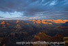 Grand Canyon, South Rim; at sunset at Hopi Point on the South Rim, the high points where light hits the rock formations are extremely bright, while the rest of the canyon is almost in darkness.  This is best viewed in the larger sizes.  I have finally finished processing all of my Grand Canyon shots from last March and have uploaded them to a gallery: Grand Canyon, South Rim.  The shots I took from the North Rim the year before are in a separate gallery.<br /> <br /> Thanks for your comments on my pink rose.  I was impressed with the creativity of the shots for indigo's challenge for Breast Cancer Awareness.  A person really has to be on their toes to keep up with you all.  My week is going ok; hope yours is even better.