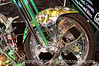 Fancy motorcycle; best viewed in the largest sizes.  I loved the paint job on this!<br /> <br /> Thanks for your comments on my shot of the window reflections.  We went bowling this evening and I'm tuckered out!