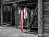3/14/13 - I've been wanting to get a shot of laundry on a line for ages, so was thrilled to see this in Old Town Tucson Studios.  I decided selective color might be worth trying on the shot.   What do you think?<br /> <br /> I do appreciate your warm response to my most recent hummingbird post.  Thanks for taking the time to comment!