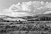 """Another shot from our camping trip to the Great Sand Dunes.  I was pleased with this one for a number of reasons: the dof, the clouds and I think it works well in black and white.  You can see two different color versions of the shot here:  <a href=""""http://fotoeffects.smugmug.com/Landscapes/Great-Sand-Dunes-National/9705555_Gh7iY#674428893_X79JQ"""">http://fotoeffects.smugmug.com/Landscapes/Great-Sand-Dunes-National/9705555_Gh7iY#674428893_X79JQ</a><br /> <br /> It has been snowy and cold here all day today.  I think the storm is going to move off by tomorrow morning, though.  Hope your weather is better than ours!"""