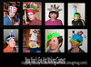 "Quite a few of you asked to see the hats that we made in our annual New Year's Eve Hat Making Contest.  These are all of them except my hubby's Sacajawea hat, in which less than the required effort was expended, and which was not included here. He, nonetheless, felt that his ""hat"" should be awarded the prize for ""Most Historic"" hat.  Ha!  The rules of the contest are that the basic structure of the hat must be of newspaper, but that may be completely covered with other materials, if desired.  We award prizes in categories such as Best Use of Newspaper, Best Use of Duct Tape, Most Creative, Wackiest, Most Fashionable, Best Use of Embellishments, Best Engineered, etc.  Obviously, some of us (who will not be named) had more trouble than others in sizing the hat properly.  Duncan's hat, second from the left on the bottom, actually had an object which spun when turned on.  We've been doing this for many years and some members of the family (not me, obviously) have honed our skills to a fine degree.  We have about two hours in which to create our hats.  Hope you get a chuckle out of our efforts.<br /> <br /> Thanks for your comments on my shot of the dancer.  Much appreciated.<br /> <br /> Hope you are enjoying your weekend!"