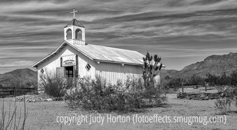 3/30/13 - Church at Old Town Tucson  Thanks to those of you who commented on my shot of the couple on the street corner.  Much appreciated.