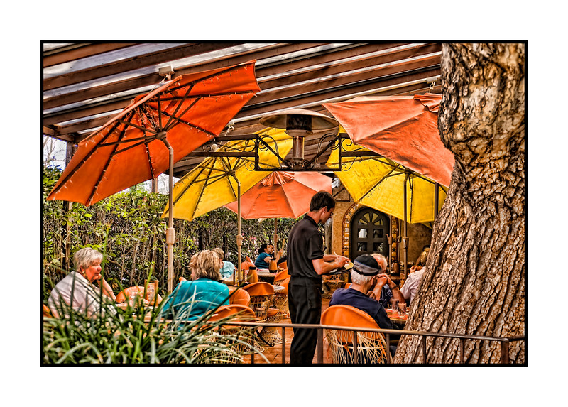Under the umbrellas in Sedona - shot at Tlaquepaque shopping center.<br /> <br /> We're back home.  I've got tons of shots to process, so I'll be at it for days, I expect.  Lots of wonderful shots on smugmug today...really enjoyed them!