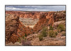 One view in Canyon de Chelly in Arizona; best viewed in the largest sizes.  The day in early March that we visited Canyon de Chelly was bitterly cold, windy and, later in the afternoon, snowy.  In spite of that, the Canyon was gorgeous and still looked inviting.  <br /> <br /> Golly, I'm really humbled that you all selected my shot of the great blue herons as your number 1 shot of the day.  Especially on a day when there were so many of your shots that were clearly a step above the usual quality.  I really appreciate the votes of confidence in my shot.<br /> <br /> Well, we finished our garage sale and carted off the leftovers to Goodwill.  It is good to have it over and done with and we did get rid of lots of stuff and even made a bit of money.  Garage sales are quite tiring, though, so I'm lookin g forward to a whole day tomorrow to work on taking and processing photos.  Hope you have a really nice Sunday!