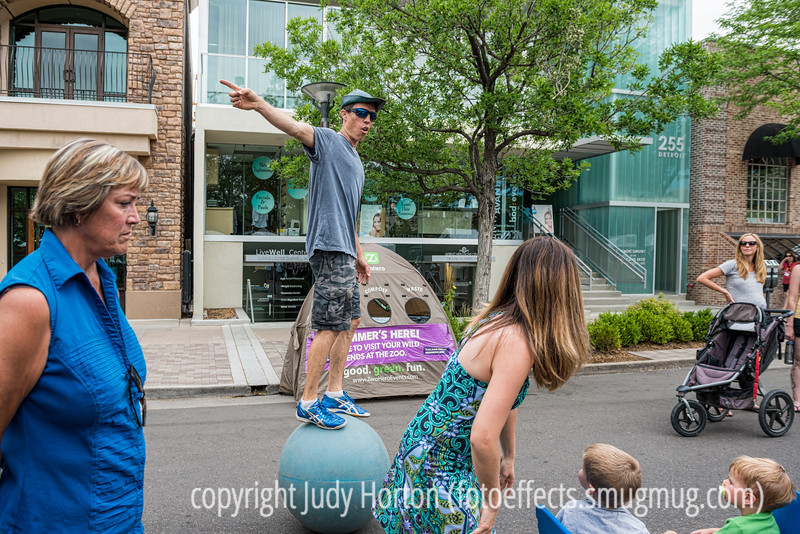 7/26/14 - At the Cherry Creek Art Festival<br /> <br /> Thanks for your comments on my shot of the labradoodle.  Much appreciated!