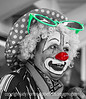 Clown <br /> <br /> Thanks for your comments on my rodeo steer wrangling shot.  Hope everyone is hanging in there with all the bitter winter weather and storms.  It was cold even in the house today; the heat has trouble keeping up when the temps are so frigid.
